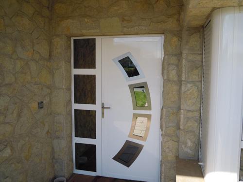 Puertas de entrada aluminios jega - Puerta entrada aluminio ...